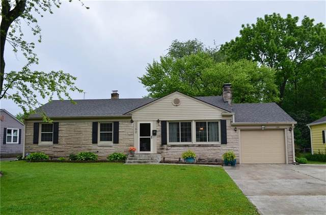 1160 Southview Drive, Indianapolis, IN 46227 (MLS #21789510) :: The Indy Property Source
