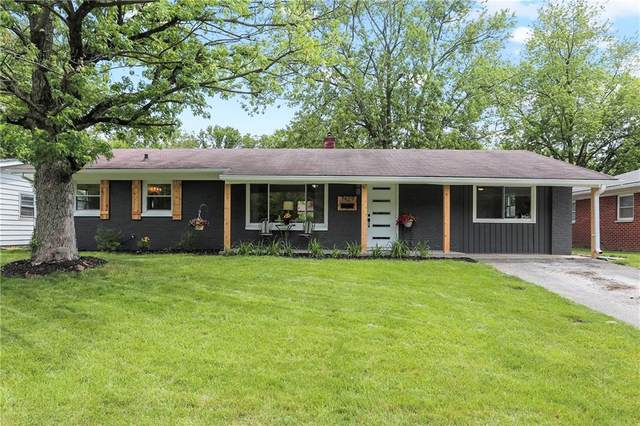 7429 E 50th Street, Lawrence, IN 46226 (MLS #21789563) :: RE/MAX Legacy