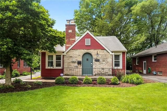 6134 Indianola Avenue, Indianapolis, IN 46220 (MLS #21789591) :: RE/MAX Legacy