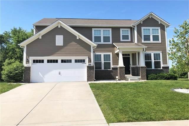 1622 Oakvista Drive, Greenwood, IN 46143 (MLS #21789620) :: Dean Wagner Realtors