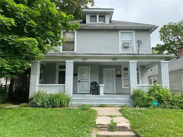 642 Eugene Street, Indianapolis, IN 46208 (MLS #21789637) :: Heard Real Estate Team | eXp Realty, LLC
