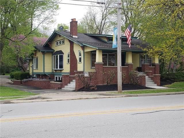 214 E Main Street, Brownsburg, IN 46112 (MLS #21789641) :: Dean Wagner Realtors