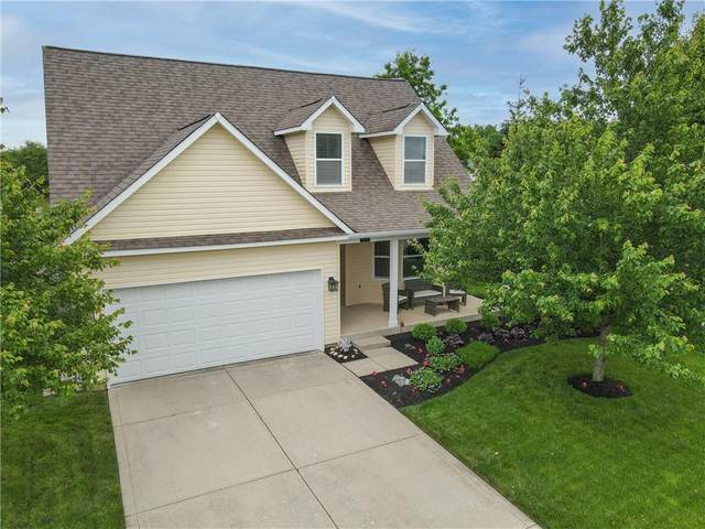 474 Redwood Drive, Pendleton, IN 46064 (MLS #21789683) :: Mike Price Realty Team - RE/MAX Centerstone