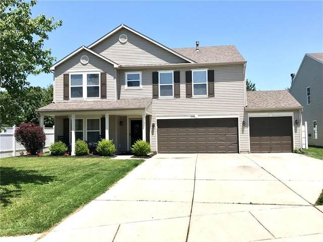 1316 Lavender Drive, Greenfield, IN 46140 (MLS #21789740) :: Mike Price Realty Team - RE/MAX Centerstone