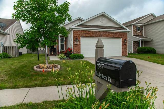 7887 Busby Bend Drive, Noblesville, IN 46062 (MLS #21789745) :: The ORR Home Selling Team