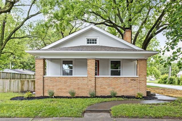 1451 N Grant Avenue, Indianapolis, IN 46201 (MLS #21789779) :: RE/MAX Legacy