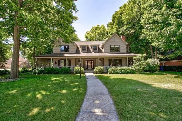 11136 Bradbury Place, Carmel, IN 46033 (MLS #21789787) :: The ORR Home Selling Team