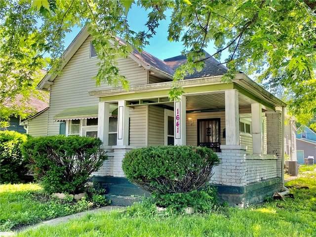 1641 Carrollton Avenue, Indianapolis, IN 46202 (MLS #21789926) :: Ferris Property Group