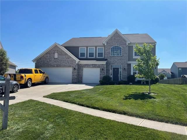 2223 Dorothea Court, Greenwood, IN 46135 (MLS #21789939) :: Keller & Corbett Real Estate
