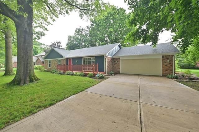874 Sleepy Hollow Place, Greenwood, IN 46142 (MLS #21789940) :: Richwine Elite Group