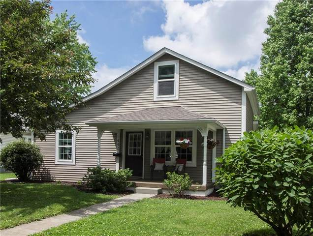 1442 Central Avenue, Noblesville, IN 46060 (MLS #21789983) :: RE/MAX Legacy