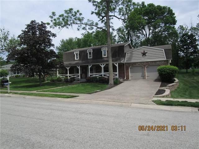 155 Appletree Row, Greenwood, IN 46142 (MLS #21790011) :: Richwine Elite Group