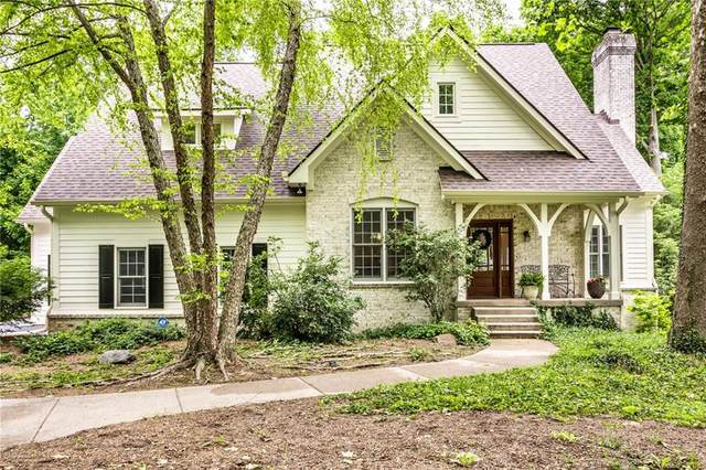 9520 Timberline Court, Indianapolis, IN 46256 (MLS #21790022) :: Dean Wagner Realtors