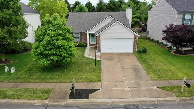 12283 Carriage Stone Drive, Fishers, IN 46037 (MLS #21790048) :: Dean Wagner Realtors