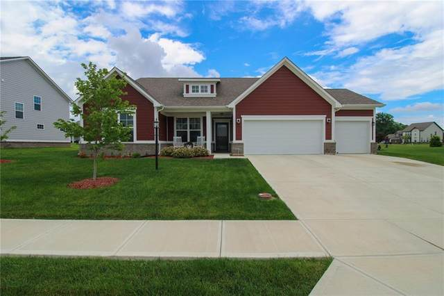 4936 Myrtle Drive, Pittsboro, IN 46167 (MLS #21790098) :: The Indy Property Source