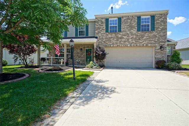 12273 Carriage Stone Drive, Fishers, IN 46037 (MLS #21790137) :: Dean Wagner Realtors