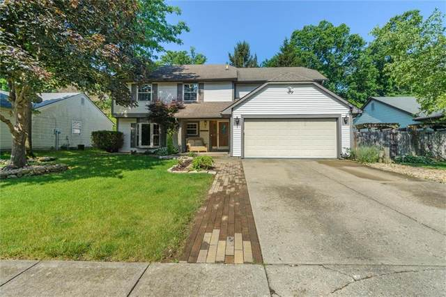 4242 Eagle Bay Drive W, Indianapolis, IN 46254 (MLS #21790146) :: The Evelo Team