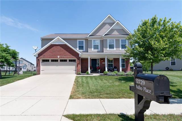 12729 Balbo Place, Fishers, IN 46037 (MLS #21790175) :: Richwine Elite Group