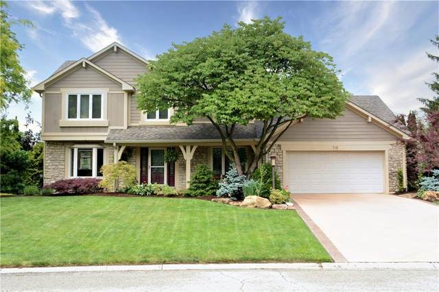 718 Citation Road, Carmel, IN 46032 (MLS #21790298) :: Mike Price Realty Team - RE/MAX Centerstone