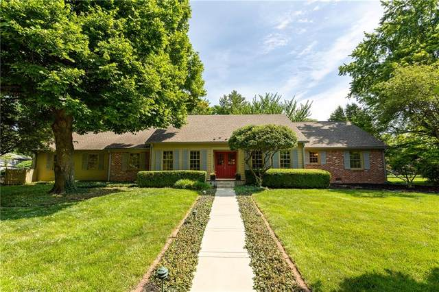 1812 Brewster Road, Indianapolis, IN 46260 (MLS #21790299) :: Ferris Property Group