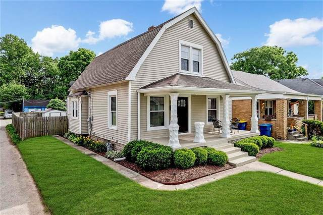 717 E 49TH Street, Indianapolis, IN 46205 (MLS #21790354) :: Dean Wagner Realtors