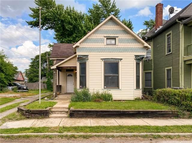 1613 Union Street, Indianapolis, IN 46225 (MLS #21790384) :: Dean Wagner Realtors