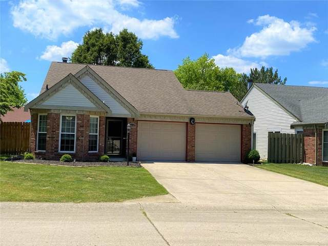 9410 Colony Pointe West Drive, Indianapolis, IN 46250 (MLS #21790396) :: The ORR Home Selling Team