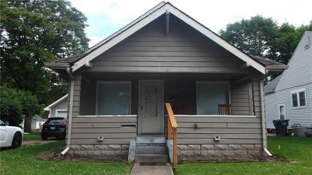 1633 W 8TH Street, Anderson, IN 46016 (MLS #21790410) :: Dean Wagner Realtors