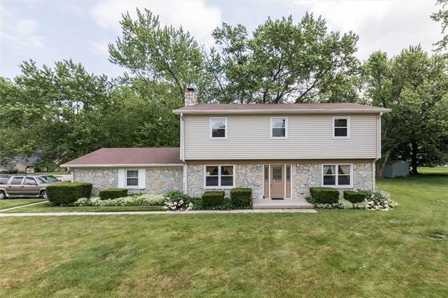 4135 Moss Drive, Carmel, IN 46033 (MLS #21790461) :: Mike Price Realty Team - RE/MAX Centerstone