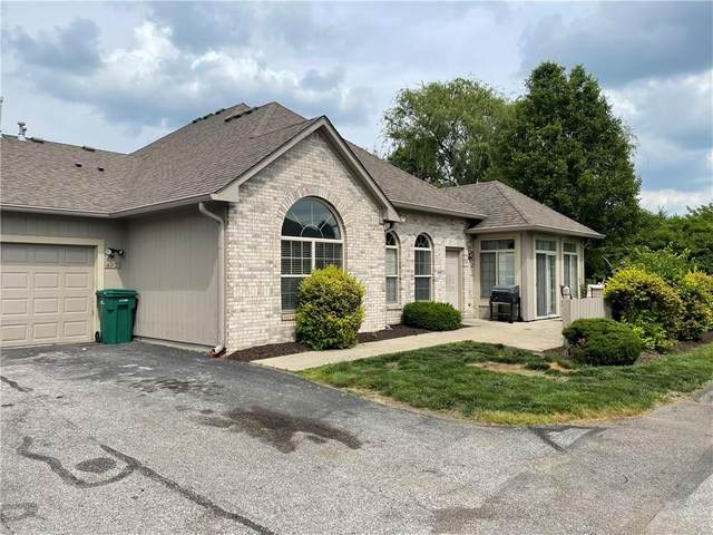 4927 Bridgefield Drive #4927, Indianapolis, IN 46254 (MLS #21790538) :: Mike Price Realty Team - RE/MAX Centerstone