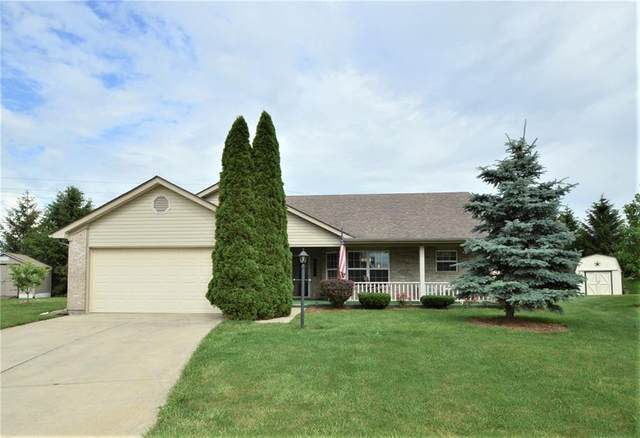 1489 Mimosa Court, Greenfield, IN 46140 (MLS #21790589) :: RE/MAX Legacy