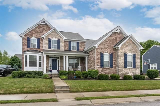 12847 Pennington Road, Fishers, IN 46037 (MLS #21790611) :: Keller & Corbett Real Estate