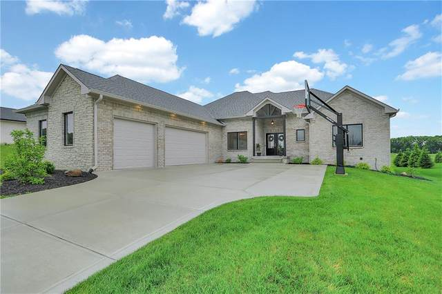 5643 Surry Lane, Greenwood, IN 46143 (MLS #21790743) :: Mike Price Realty Team - RE/MAX Centerstone
