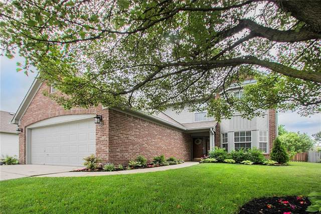 6371 Hillview Circle, Fishers, IN 46038 (MLS #21790808) :: Dean Wagner Realtors