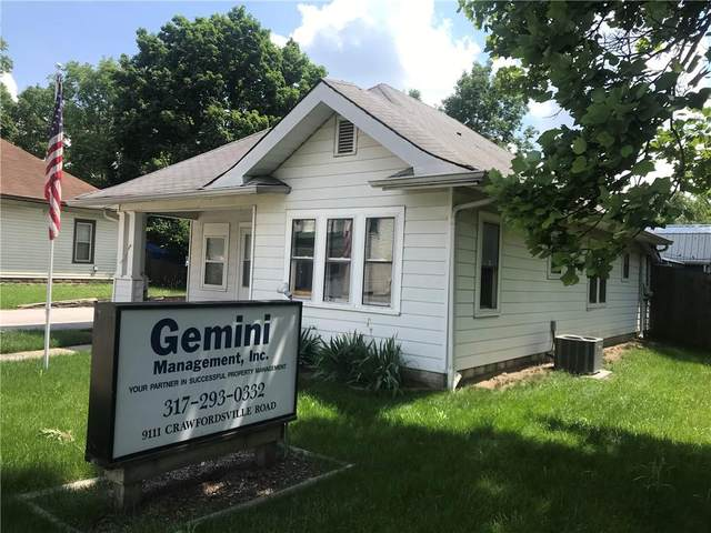 9111 Crawfordsville Road, Indianapolis, IN 46234 (MLS #21790866) :: Ferris Property Group