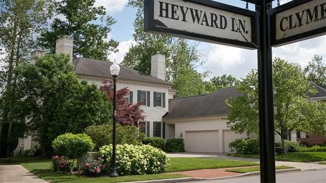 4135 Heyward Lane, Indianapolis, IN 46250 (MLS #21790923) :: Pennington Realty Team