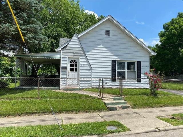 1206 Home Avenue, Anderson, IN 46016 (MLS #21790971) :: The Evelo Team