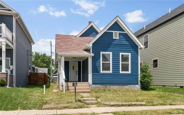 334 E Caven Street, Indianapolis, IN 46225 (MLS #21791026) :: The Evelo Team