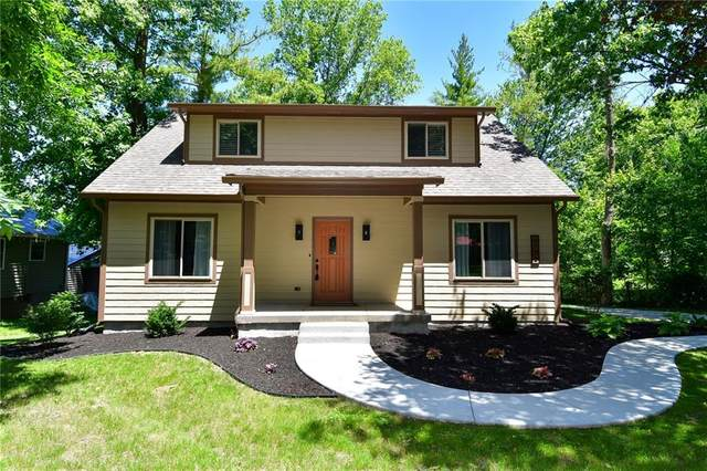 2772 W Lake Drive, Greenfield, IN 46140 (MLS #21791040) :: AR/haus Group Realty
