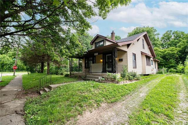 555 N Centennial Street, Indianapolis, IN 46222 (MLS #21791067) :: The ORR Home Selling Team