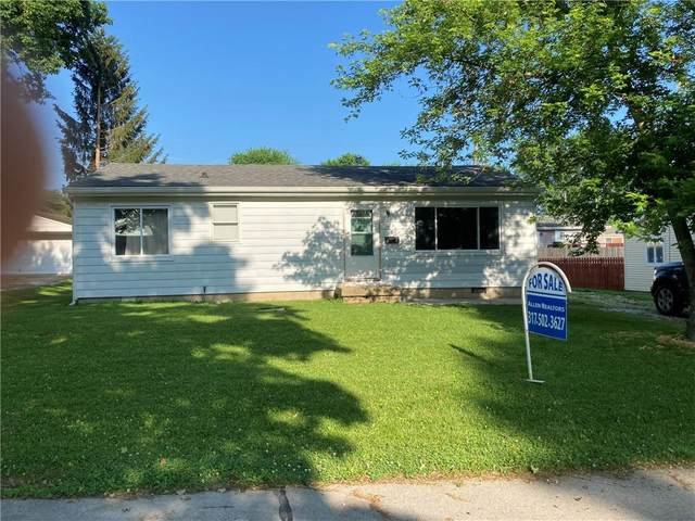 34 Martin Drive, Danville, IN 46122 (MLS #21791171) :: Mike Price Realty Team - RE/MAX Centerstone