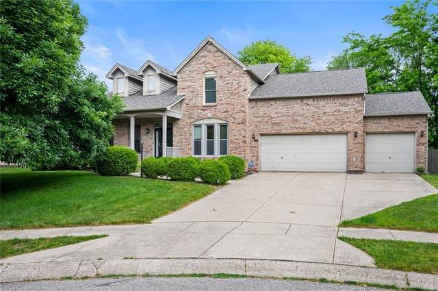 6802 Bluffridge Court, Indianapolis, IN 46278 (MLS #21791185) :: The ORR Home Selling Team