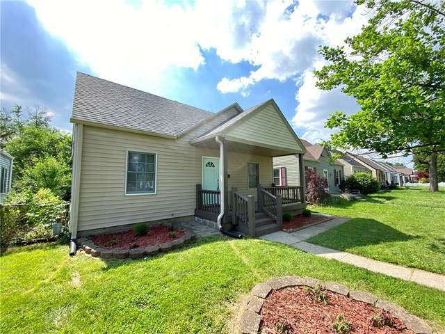 310 N 18th Avenue N, Beech Grove, IN 46107 (MLS #21791347) :: Mike Price Realty Team - RE/MAX Centerstone