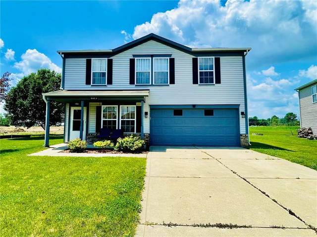 605 Reed Court, Greenfield, IN 46140 (MLS #21791378) :: RE/MAX Legacy