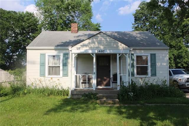 1407 S Moreland Avenue, Indianapolis, IN 46241 (MLS #21791379) :: JM Realty Associates, Inc.