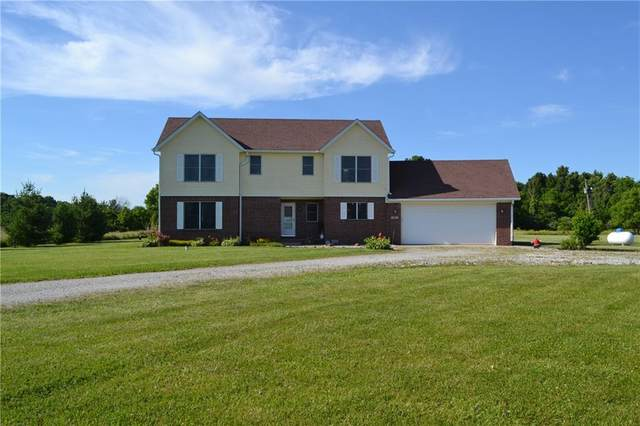 8778 E 600 S, Morristown, IN 46161 (MLS #21791484) :: The Indy Property Source