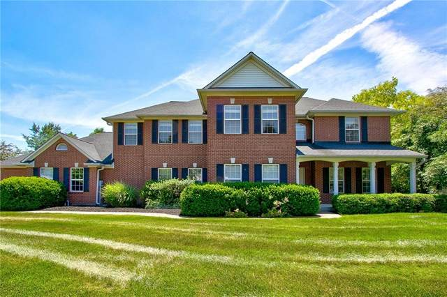 4835 Greenspire Drive, Carmel, IN 46033 (MLS #21791498) :: Mike Price Realty Team - RE/MAX Centerstone