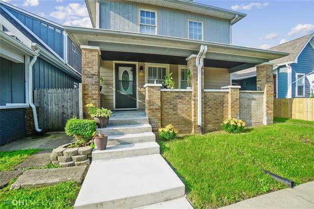 633 E Minnesota Street, Indianapolis, IN 46203 (MLS #21791554) :: The Indy Property Source