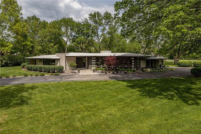 6007 Crows Nest Drive, Indianapolis, IN 46228 (MLS #21791605) :: The ORR Home Selling Team