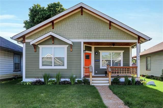 240 S Walcott Street, Indianapolis, IN 46201 (MLS #21791655) :: Heard Real Estate Team | eXp Realty, LLC
